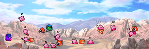 Kirby Battle Collab By Catcliff36-d736fa0 by HegyThePuffball01