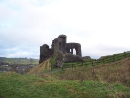 LD Kendal Castle Ruins by wilterdrose-stock
