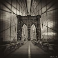 Brooklyn Bridge by NachoRomero