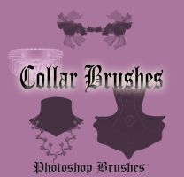 Collar Brushes by WhiteMiceAndSherbet