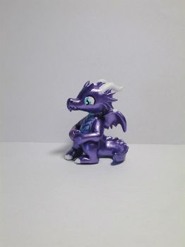 Baby Dragon Sculpture by EarthenPony