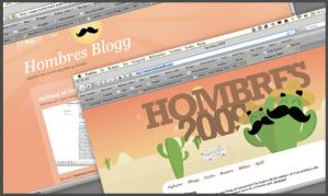 Hombres site and blog by oyvindronning