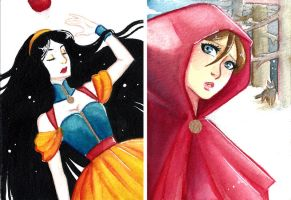 FairyTales - Snow and Red by KiraMizuno
