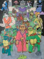 TMNT by iamtherealbender