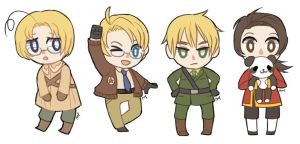 Hetalia Crossing by Amphany