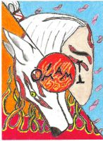 Okami in two by Axil20