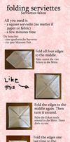 serviettes tutorial by real-live-lover