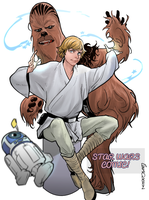 If Chewie and Luke were best friend..... COVER by Larscatson