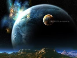 Empyrean Wallpaper Edition by dilekt