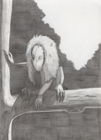 Seedeater pencil by LadyMonoceros