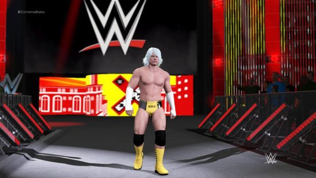 riku in wwe world for stop the heartless by kari5