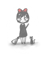 kiki and jiji by mew-ninjin