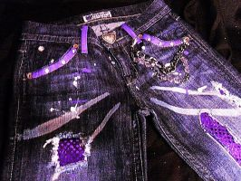 Custom Denim by BadLukArt