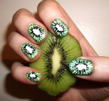 Kiwi Nails by kaylamckay
