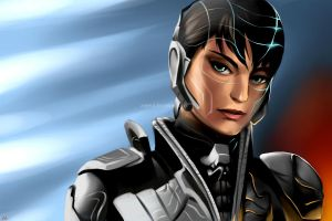 Faora from Man of Steel by annaoi