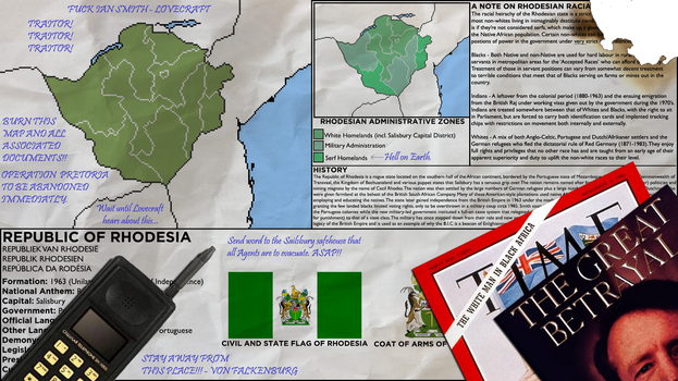 Map of Rhodesia - Marcus's Copy (Rev! Redux) by KitFisto1997