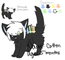 Bidding #1 : Cotten by PastelAdoptables