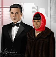 Disguise - Scotty and Uhura by ayumi-lemura