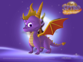 Spyro the Dragon by Sticklove