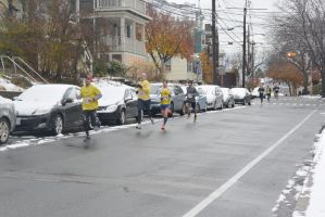 Gobble Gobble Turkey Run,They're Half Way There by Miss-Tbones