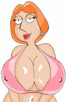 Lois Griffin 1st Color by LucaFire