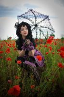 BLACK LOLITA_Poppies by TheOuroboros