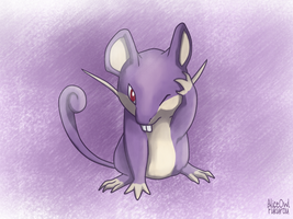 Rattata by AliceOwl-Fukurou