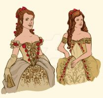Belle Dress Designs by hwilki65