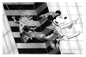 Editorial: Disney + Marvel by fenix42