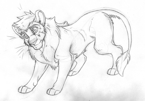Dylan Ref SHEET 2013 SKETCH by KasaraWolf