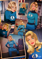 I love Sue Storm By Des Taylor by DESPOP