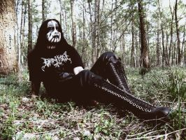 Black metal girl v3 by CRUELGERM