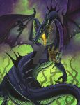 Maleficent Dragon by SMorrisonArt