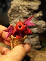 miniature dragon 1:12 by Dreamkeeperfae