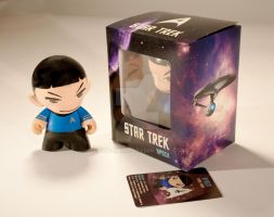 Spock Munny by Heza-chan