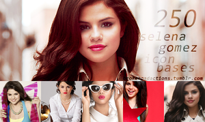 250 SELENA GOMEZ (1) icon bases by SydneyWells