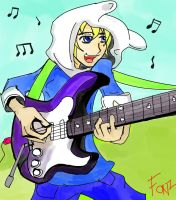 Finn - Jamming Time! by Crescendolls187