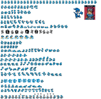 Veemon Sprites Recoloured by electrivire98