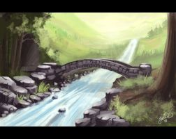 Little Bridge by mortisflux