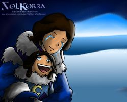 Katara and Kya Finaly Together by SolKorra