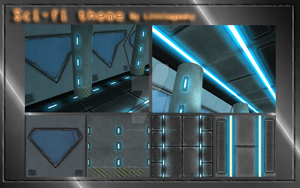 Sci fi, Tile-able textures by LittleGeeky