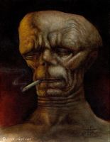 Dead Man Smoking by chetzar