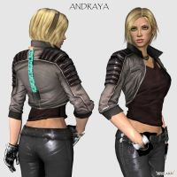 Andraya - DS Fanmade Character by toughraid3r37890