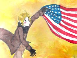 APH Flag- America by YizelePhantom