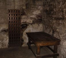 Prison Cell Table by Falln-Stock