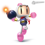 Bomberman Smashified Transparent by hextupleyoodot