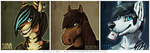 Norpaws Icon Batch by SmidgeFish
