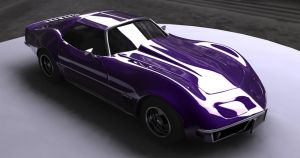 Corvette Stingray by halogen