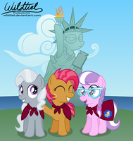 The Manehattan Crusaders by wildtiel