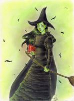 Wicked: Elphaba by susu-chan